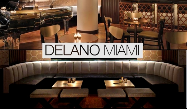 Florida Room - Delano Hotel Miami